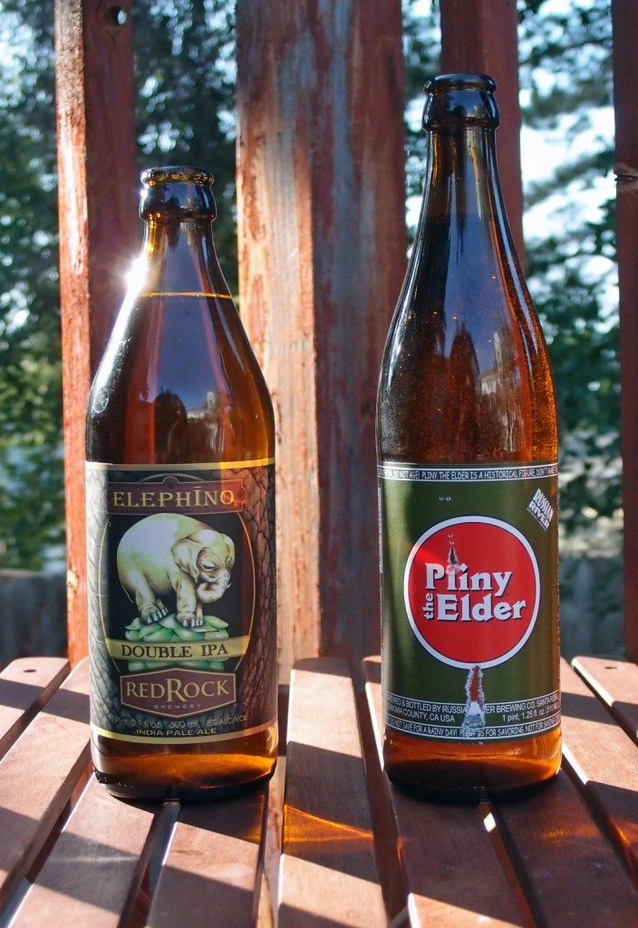 Elephino by Red Rock, Pliny the Elder by Russian River