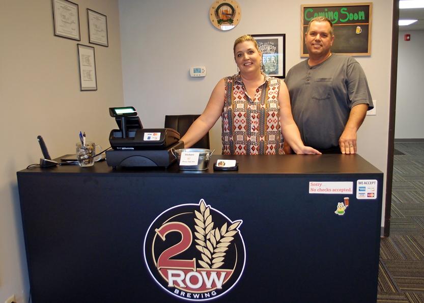 2 Row Brewing bottle shop, Midvale, Utah