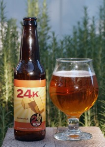 24k Golden Ale by 2 Row Brewing