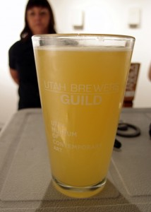 Epic Berliner Weisse - Fluid Art 2015