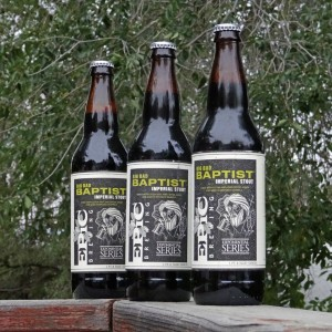 Three Versions of Big Bad Baptist Imperial Stout - Epic Brewing