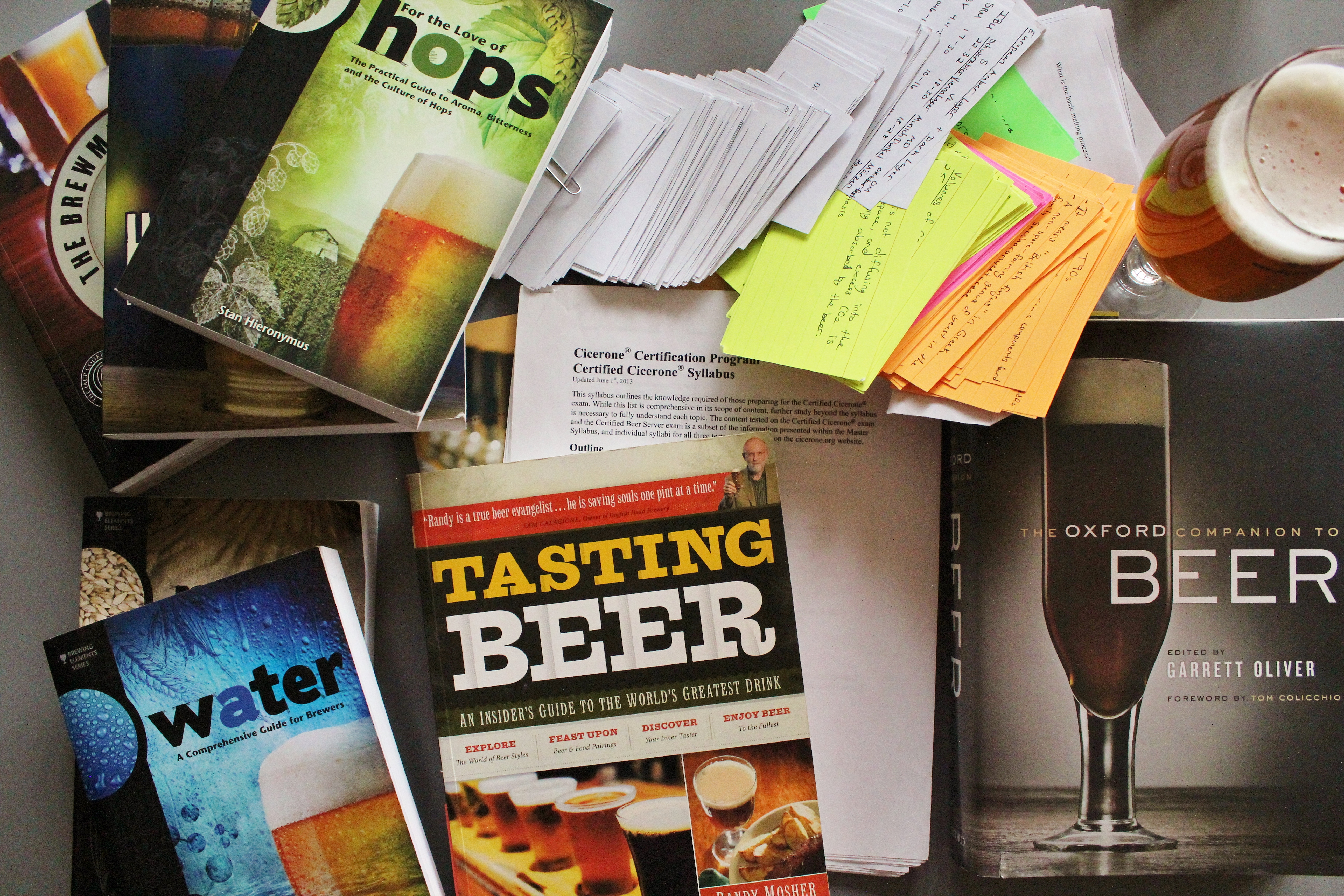 Certified cicerone study resources xflitez Image collections