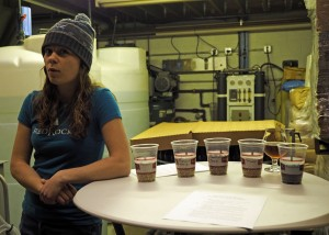 Lauren explains the different malt types.