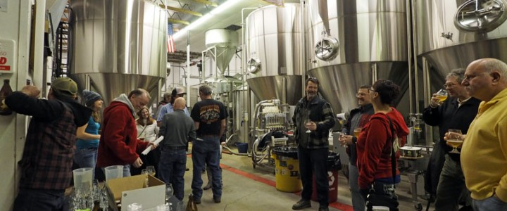 Beer School Brewery Tour at Red Rock Brewing Co.