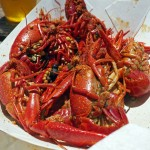 Crawfish Lunch - Copyright Crafty Beer Girls