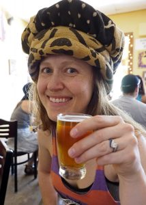 That hat - Copyright Crafty Beer Girls
