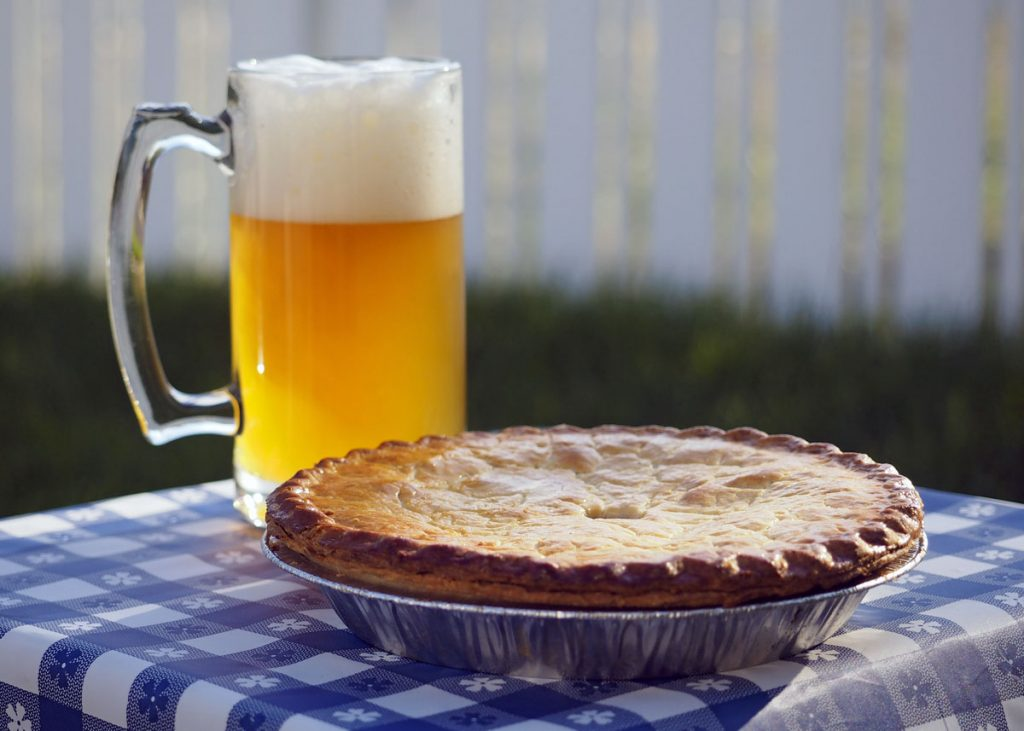 Pie and Beer - Copyright Crafty Beer Girls
