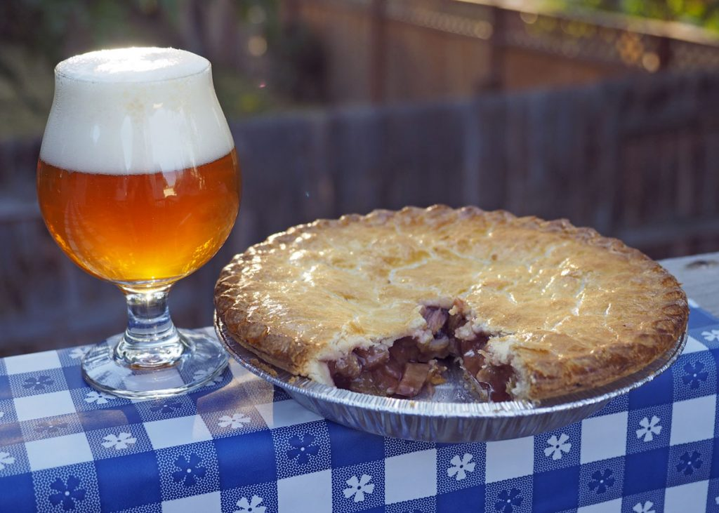 Pie and Beer 2 - Copyright Crafty Beer Girls