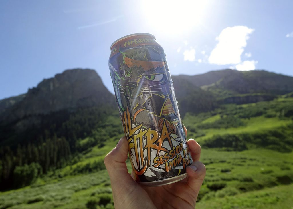 Cheers Crested Butte - Copyright Crafty Beer Girls