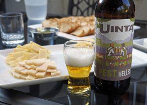 Uinta Fest Helles - Copyright Crafty Beer Girls