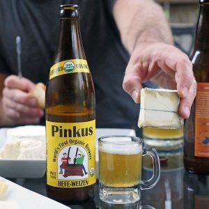 Pinkus Hefe - Copyright Crafty Beer Girls