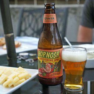 Tangering Hop Nosh - Copyright Crafty Beer Girls