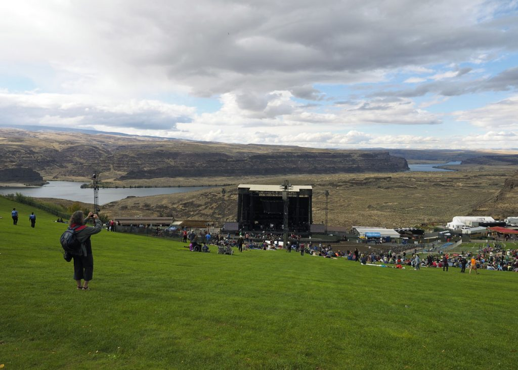 The Gorge Amphitheatre - Copyright Crafty Beer Girls