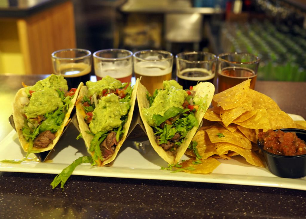 Crooked Fence Food/Beer - Copyright Crafty Beer Girls