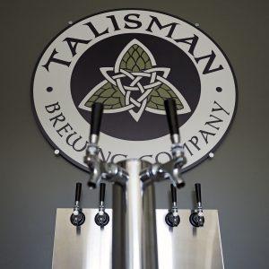 Talisman Taps - Copyright Crafty Beer Girls