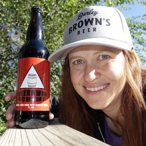 Barley Brown's Fan - Copyright Crafty Beer Girls