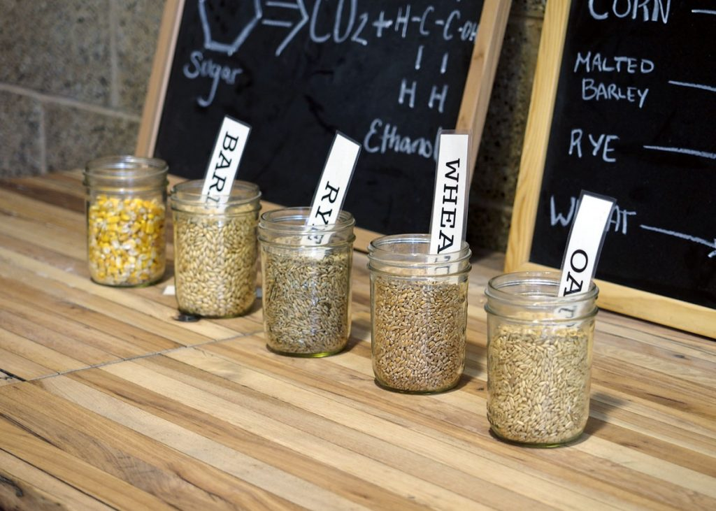 Grains for Whiskey - Copyright Crafty Beer Girls