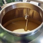Fermenting Whiskey Mash - Copyright Crafty Beer Girls