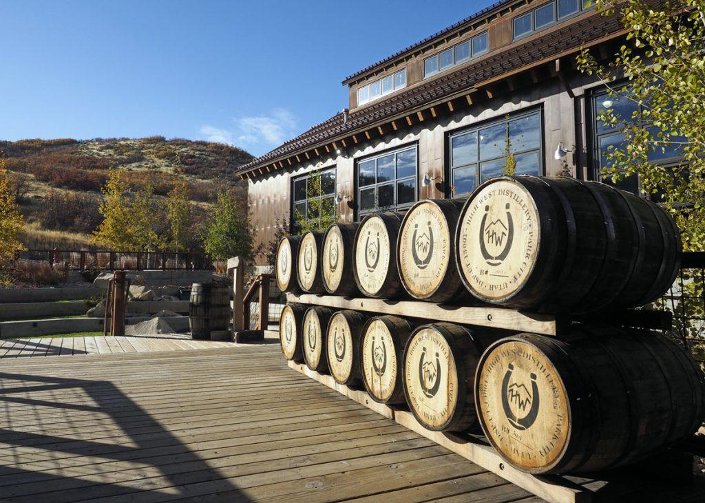 Barrels at High West - Copyright Crafty Beer Girls