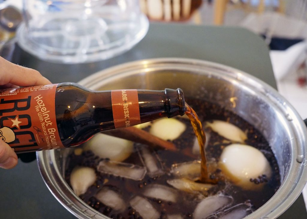 Beer to the Brine - Copyright Crafty Beer Girls