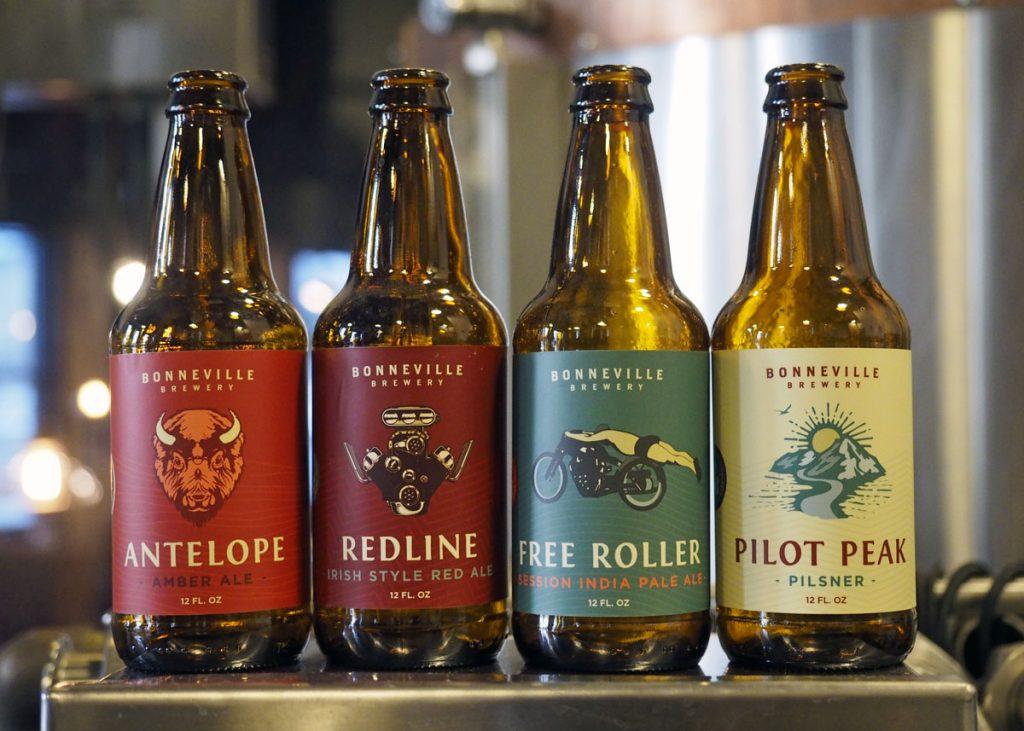 Bonneville Bottles - Copyright Crafty Beer Girls