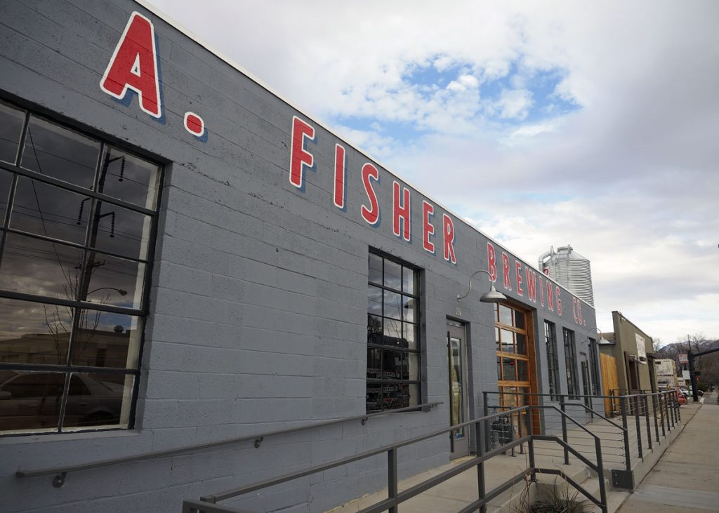 New Fisher Brewery - Copyright Crafty Beer Girls