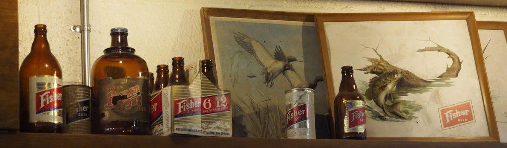 Fisher Memorabilia - Copyright Crafty Beer Girls