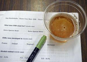 ESB Hop Bombshells Class - Copyright Crafty Beer Girls