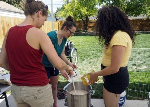 Big Brew Day Hop Bombshells - Copyright Crafty Beer Girls