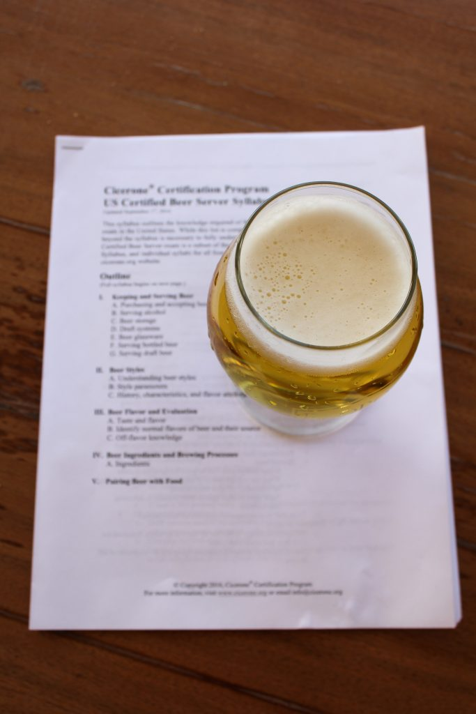 Pass the Cicerone Exams with the Beer Scholar Study Guides