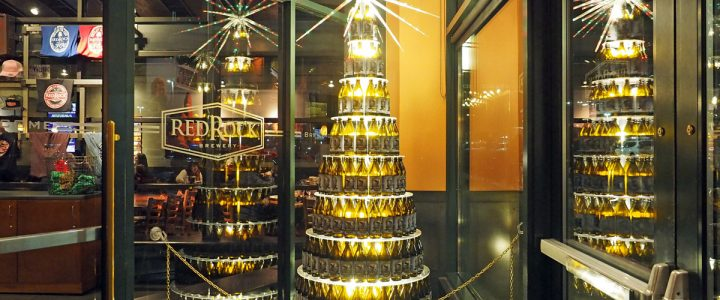 Behold! The Holiday Bottle Tree